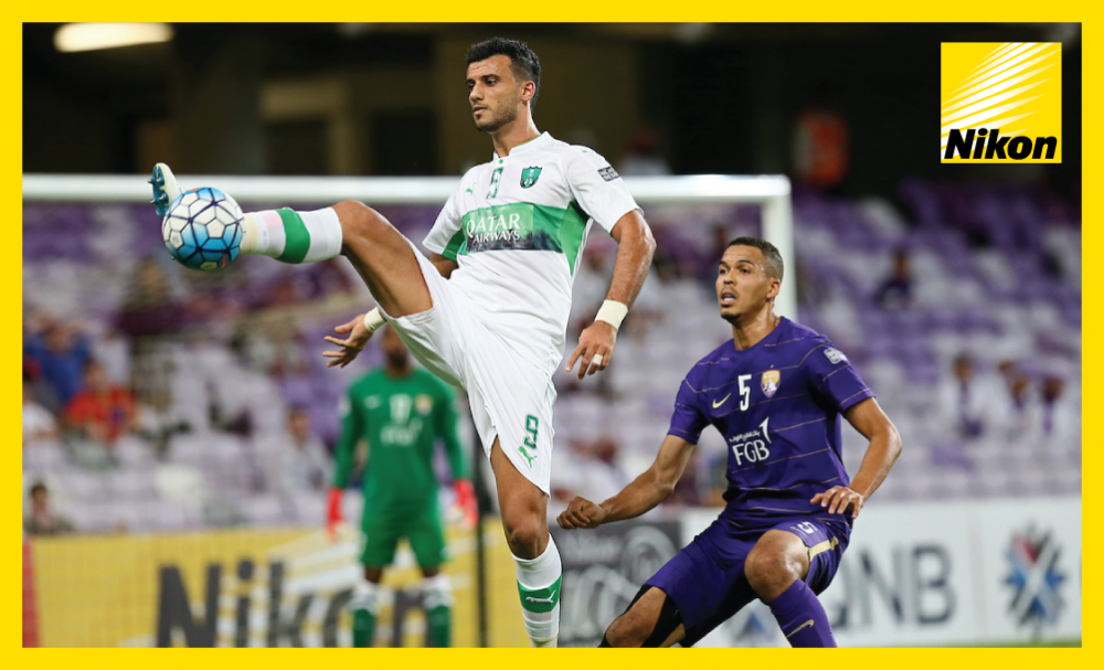 Prolific hitman Omar Al Soma leads the line in Al Ahli's 2-2 AFC Champions League draw at Al Ain on Tuesday in which the Syrian nets a brace including a stunning late equaliser as Saudi side remain top of Group C.