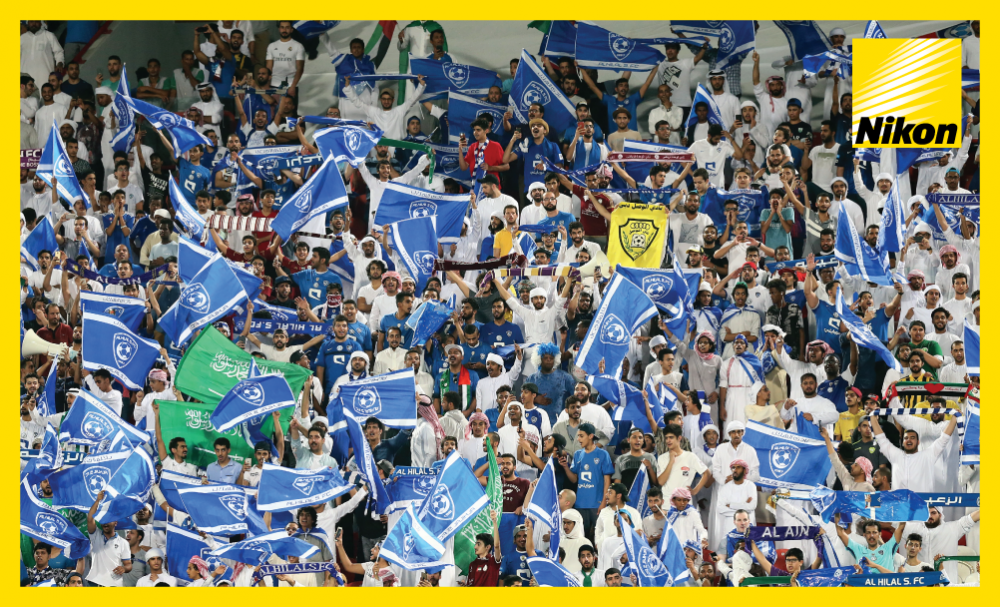 Al Hilal's supporting cast take to the Mohammed Bin Zayed Stadium in their droves to see their side run out convincing 4-0 winners over Persepolis in the first leg of the AFC Champions League semi-final on Tuesday.