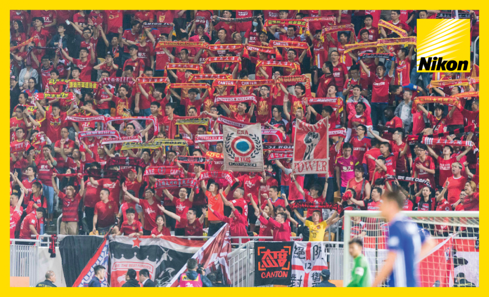 Guangzhou Evergrande supporters make the short journey to Hong Kong in their droves and witness a resounding 6-0 victory over Eastern SC in the AFC Champions League on Tuesday to return to the Group G summit.