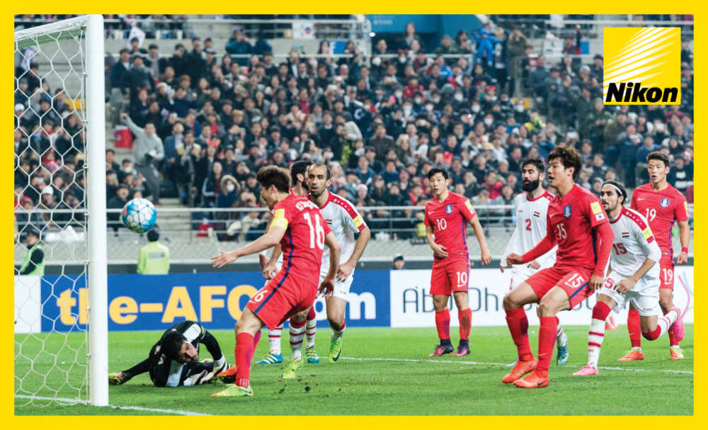 Nam Tae-hee's (10) header drifts agonisingly wide of the post but Korea Republic hold on in Group A of the FIFA World Cup Russia 2018 qualifiers to post narrow 1-0 victory over Syria in Group A.