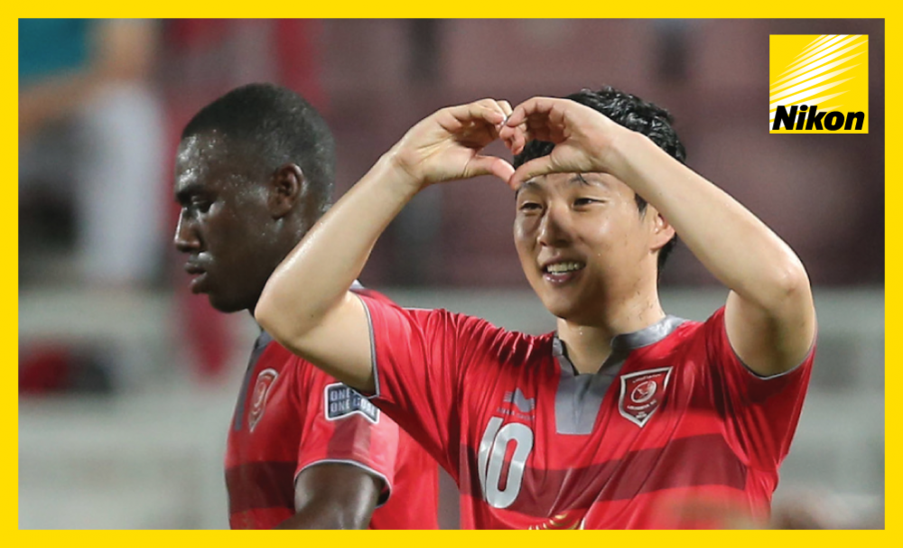 Nam Tae-hee shares the love after the midfielder scores one and makes another as Lekhwiya overcome Esteghlal Khouzestan 2-1 on Matchday Four to rise to the summit of Group B of the AFC Champions League.
