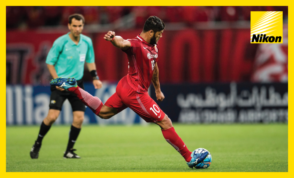 Hulk rockets the ball into the FC Seoul net from distance as Shanghai SIPG secure their passage to the last 16 of the AFC Champions League and eliminate their Korean opponents following a 4-2 victory on Wednesday.