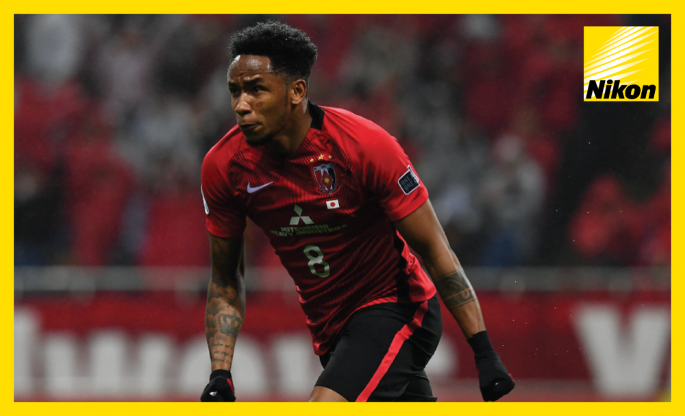 Urawa Red Diamonds' Rafael Silva scores the only goal in 1-0 win over Shanghai SIPG to leapfrog their opponents into top spot in Group F of the AFC Champions League on Tuesday.
