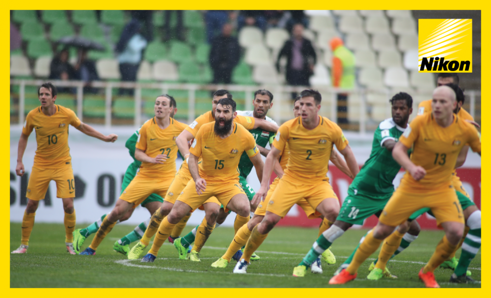 Australian defence alert as Iraq attack jostles for space in Thursday's 1-1 draw between the pair in Group B of the FIFA World Cup Russia 2018 qualifying campaign.