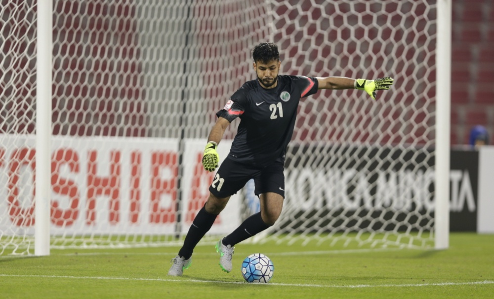 Goalkeeper Ahmad Al Harbi is currently challenging Al Ahli's longtime established custodian Yasser Al Mosailem for the Number 1 jersey having only made his league debut for the Jeddah-based side last year.