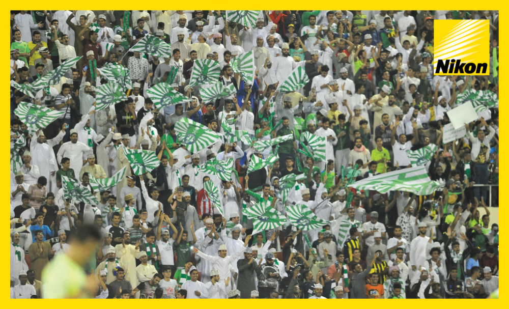 Al Ahli (KSA) fans travelled in large numbers to Muscat to watch their side defeat Zobahan 2-1 in the AFC Champions League on Matchday Two.