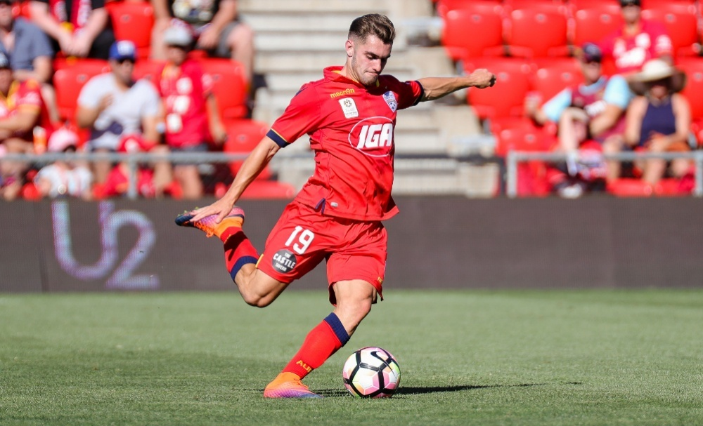 Adelaide-born Ben Garuccio began his professional career with Melbourne City in 2012 before returning home last June and helping Adelaide United win the A-League Premiership and their first ever A-League Grand Final.