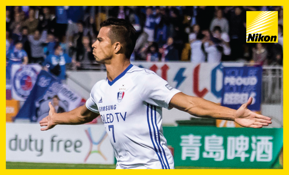 Super Sub: Brazilian striker Johnathan comes off the bench to score the only goal of the game as Suwon Samsung Bluewings overcome Eastern SC 1-0 in Tuesday's AFC Champions League Group G clash.