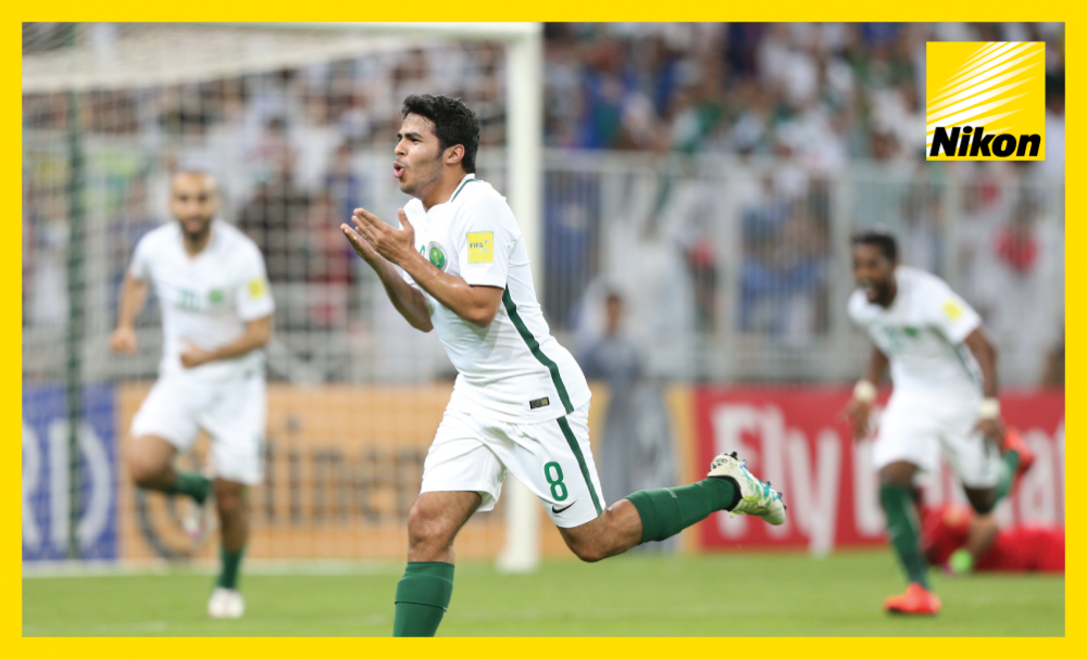 Yahya Al Shehri scores the only goal of the game as Saudi Arabia defeat Iraq 1-0 in Group B on Tuesday to move nearer to a first FIFA World Cup since 2006.