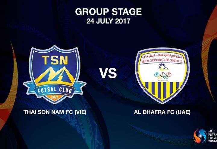 M15 - Thai Son Nam FC (VIE) vs Al Dhafra FC (UAE)