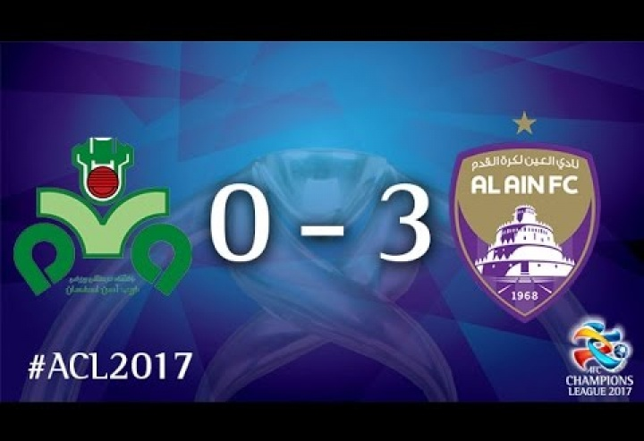 Zobahan vs Al Ain (AFC Champions League 2017 : Group Stage - MD5)