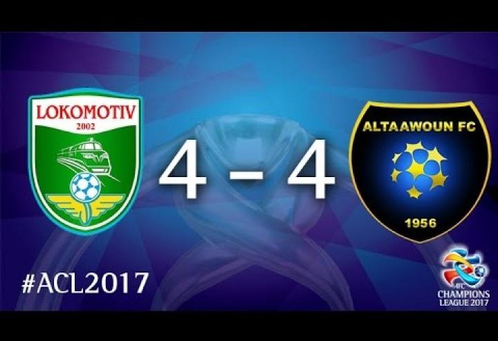 PFC Lokomotiv vs Al Taawoun FC (AFC Champions League 2017 : Group Stage)