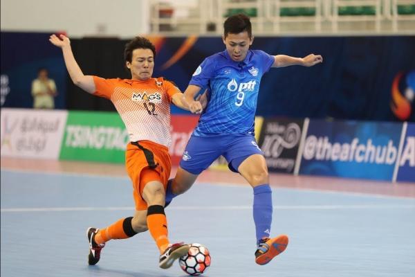 Bluewave Chonburi vs Shriker Osaka (AFC Futsal Club Championship 2017 – Quarter-Finals)