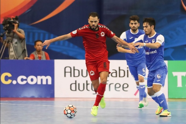 Disi Invest vs Al Rayyan (AFC Futsal Club Championship 2017 – Group Stage)