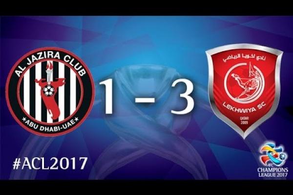 Al Jazira vs Lekhwiya SC (AFC Champions League 2017 : Group Stage)