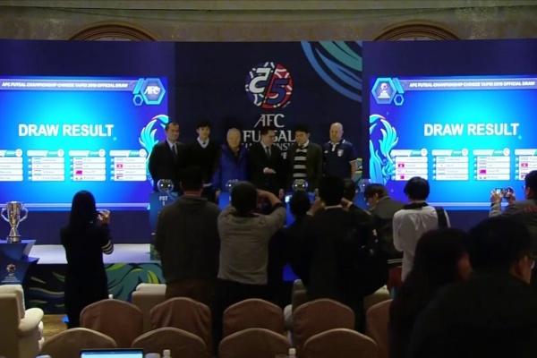 AFC Futsal Championship 2018 Official Draw