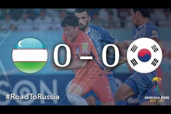 Uzbekistan vs Korea Republic (2018 FIFA World Cup Qualifiers)