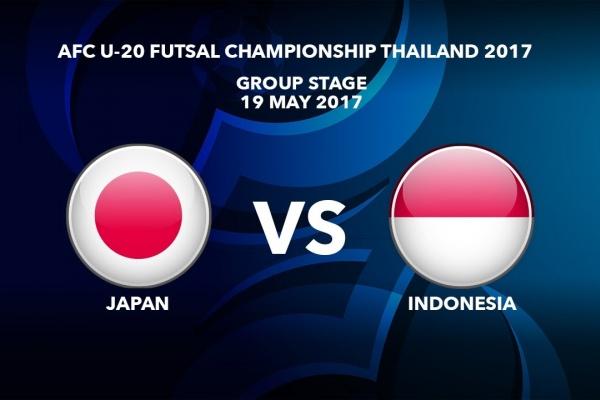 #AFCU20FC THAILAND 2017 - M33 Japan vs Indonesia - Highlights