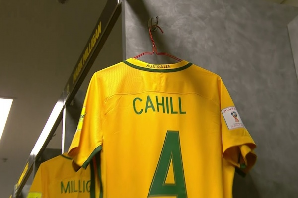 We go inside the Australia and Honduras dressing rooms!
