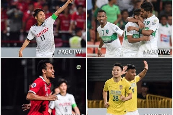 Allianz Goal Of The Week (AFC Champions League: Round of 16 - First Leg)