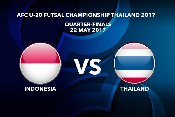 #AFCU20FC THAILAND 2017 - M46 Indonesia vs Thailand - Video News