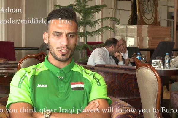Ali Adnan: Many young Iraqi players deserve to play in Europe