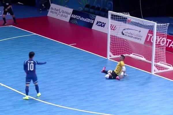 Chinese Taipei vs Bahrain (AFC Futsal Championship 2018: Group Stage)