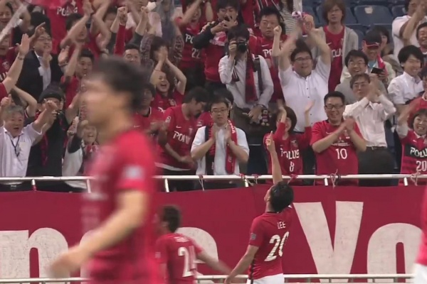 Tadanari Lee makes it 2-0 to Urawa Red Diamonds!