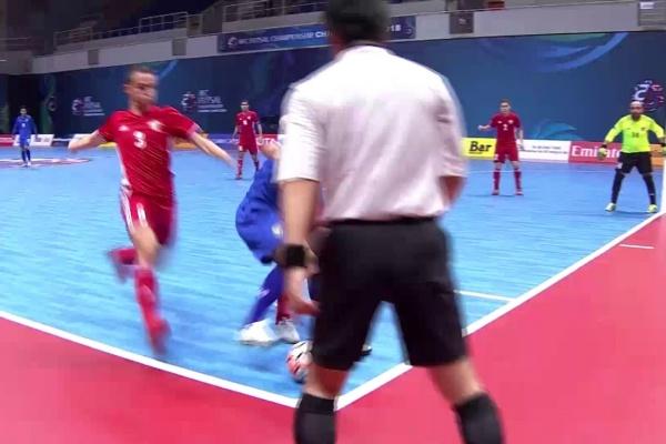 Thailand vs Jordan (AFC Futsal Championship 2018: Group Stage)