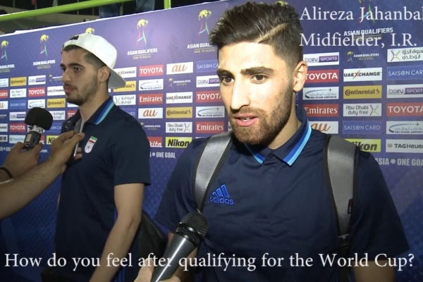 Alireza Jahanbakhsh: Hopefully we can perform even better at the FIFA World Cup