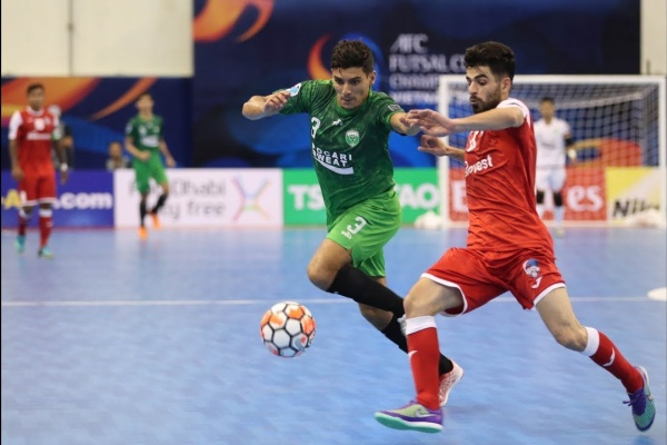 Vamos FC vs Disi Invest (AFC Futsal Club Championship 2017 – Group Stage)