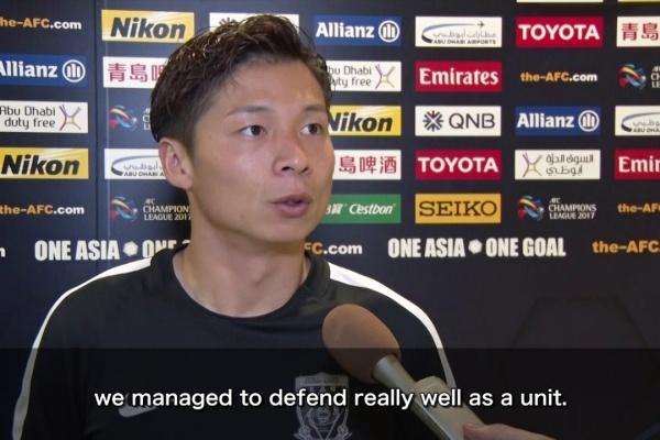 Post Match Interview: Kazuki Nagasawa