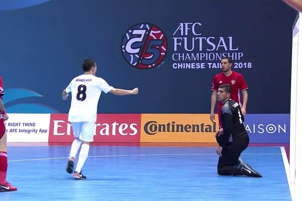 Jordan 1-3 Kyrgyz Republic (AFC Futsal Championship 2018: Group Stage)