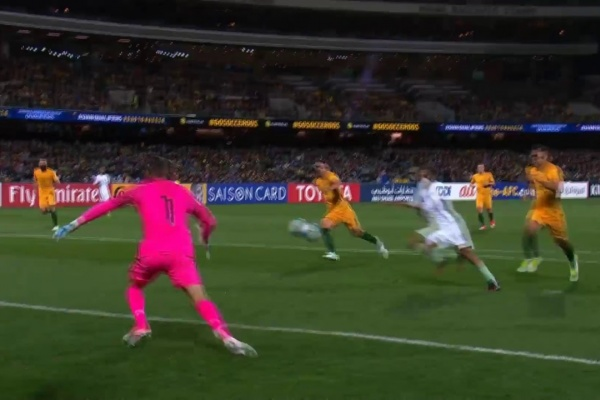 Australia vs Saudi Arabia (2018 FIFA World Cup Qualifiers)