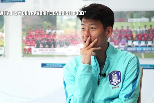 Up close and personal with Son Heung-min!