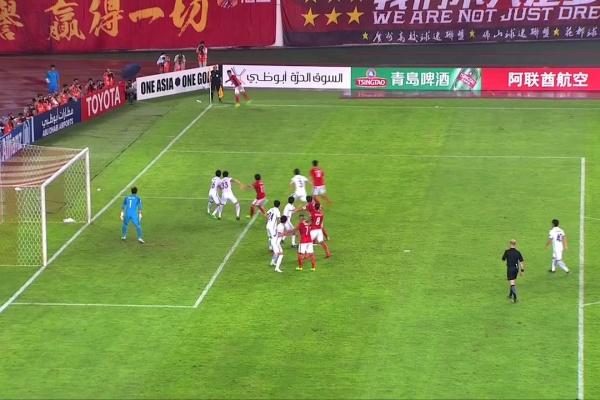 Paulinho breaks the deadlock to put Guangzhou Evergrande in front!