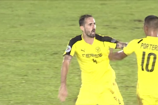 Maneul Herrera opens the scoring for Ceres Negros!