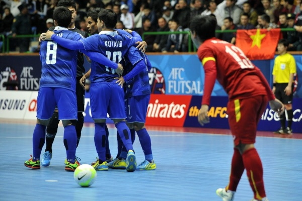 THAILAND vs VIETNAM: AFC Futsal Championship 2016 (3rd Place Playoff)