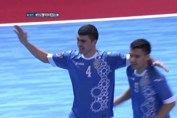Uzbekistan 13-2 Korea Republic (AFC Futsal Championship 2018: Group Stage)