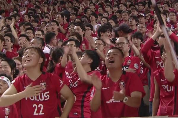 Shinzo Koroki equalises for Urawa Red Diamonds!