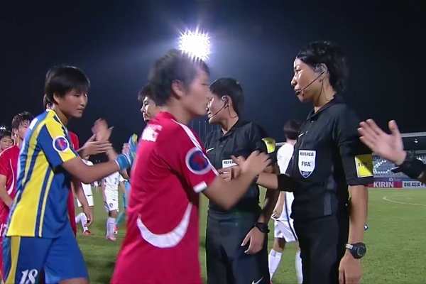 DPR Korea vs Korea Republic (AFC U-16 Women's Championship 2017: Final)