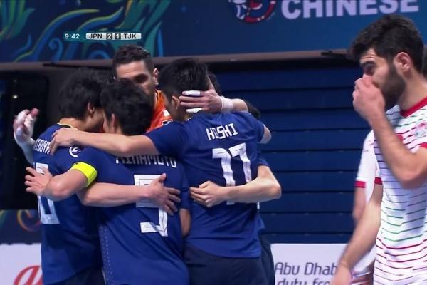 Japan 4-2 Tajikistan (AFC Futsal Championship 2018: Group Stage)