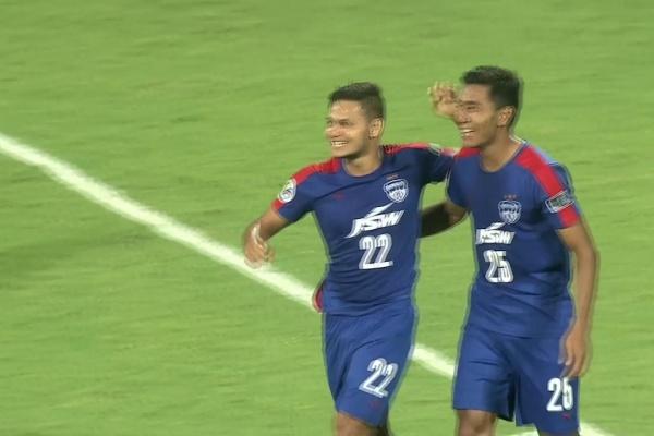 JSW Bengaluru vs Abahani Limited Dhaka (AFC Cup 2017 : Group Stage)