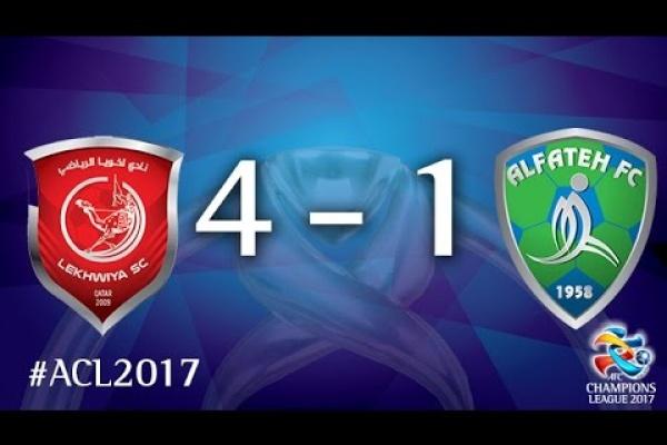 Lekhwiya vs Al Fateh (AFC Champions League 2017: Group Stage – MD6)