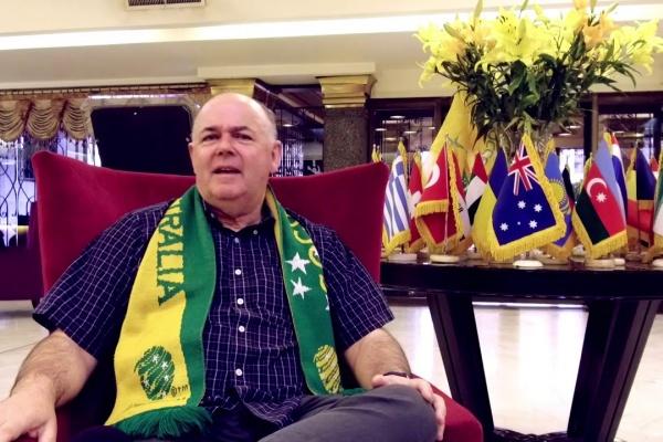 Socceroos Super Fan: Pablo Bateson