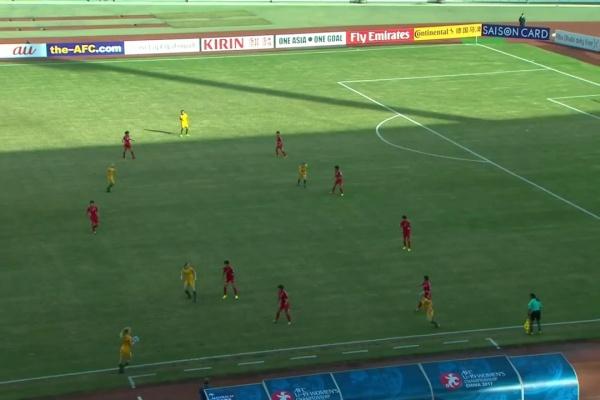 DPR KOREA vs AUSTRALIA (AFC U-19 Women's Championship)