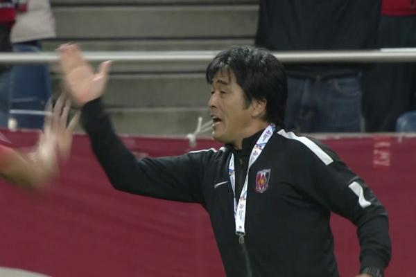 Rafael Silva fires Urawa Red Diamonds into the lead!