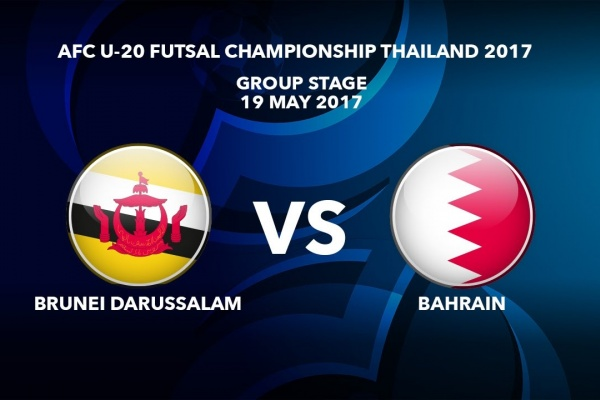 #AFCU20FC THAILAND 2017 - M34 Brunei Darussalam vs Bahrain - Highlights