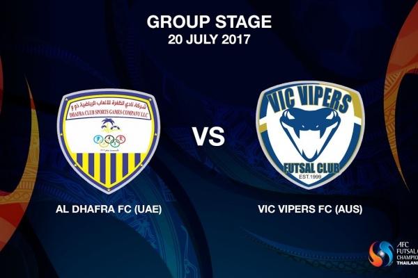 M02 - Al Dhafra FC (UAE) vs Vic Vipers FC (AUS) - Video News