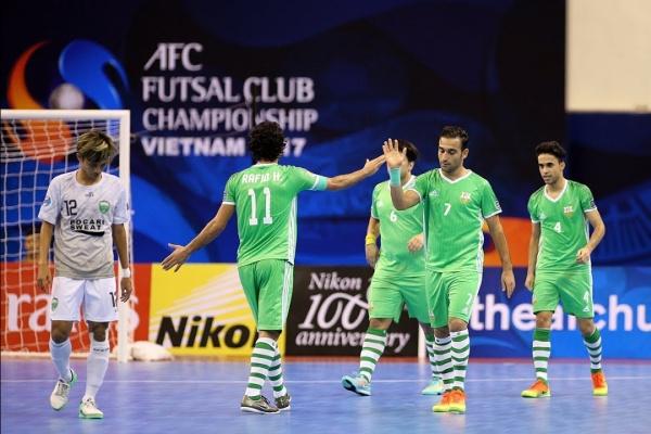Vamos FC vs Nafit Al Wasat (AFC Futsal Club Championship 2017 – Group Stage)